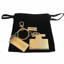 Dolce & Gabbana The One Gold Key Ring, Dog Tag & Gift Pouch