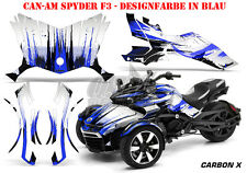Amr racing decoración Graphic kit ATV can-am spyder RS, RSS, RT, RT-s, f3 carbon-X B
