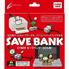 New Nintendo 3DS CYBER Save Bank Japan