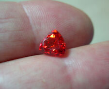 SAPHIR VERNEUIL PADPARADSCHA TRILLION 15x15x15mm...IF