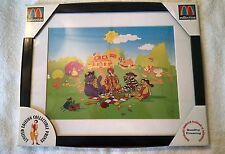 McDonald's Limited Numbered Sericel Framed Print, Ronald's Picnic  - New