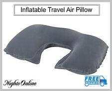 Inflatable Travel Air Pillow, Soft & Relaxing U Shape Neck Support Air Cushion