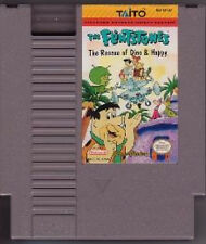 FLINTSTONES THE RESCUE OF DINO AND HOPPY ORIGINAL NINTENDO GAME SYSTEM NES HQ