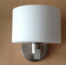 Estiluz Paris A2415 Satin Nickel White Bathroom Wall Sconce Flos Artemide Era
