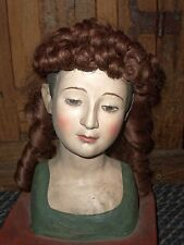 ANTIQUE DOLL'S WIG WITH RINGLETS