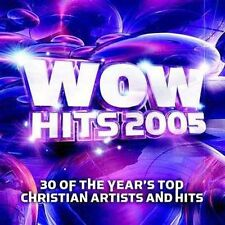 WOW Hits 2005 by Various Artists (CD, Oct-2004, 2 Discs, EMI Christian Music Gro