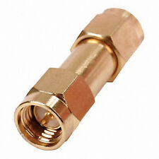SMA Male To SMA Male Connector Joiner Adaptor Pack of 2