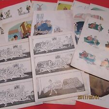 20 Vintage Lot of Playboy Comics Art Funny Naughty Adult Cartoons,lot 11