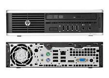 HP Elite 8000 Ultra Slim Desktop E8400 C2D 3.0GHz 2GB NO Hard Drive & Adapter