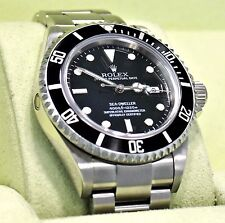 Rolex SEA-DWELLER 16600 Steel Oyster Date Men Diver Watch Z Serial B/PAPER *MINT