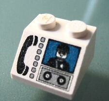 LEGO 3039px14 @@ Slope 45 2 x 2 Phone & Minifig Pattern @@ 6332 6398 6554 6598