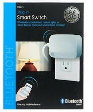 New GE Plug-In Smart Switch 13867 Bluetooth Use With Any Mobile Device