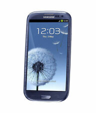 Samsung Galaxy S3 III GT-I9300 16+ 64GB Pebble Blue Sim Free Unlocked Smartphone