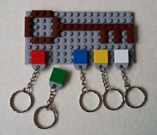 Unique Original Lego Keyring Key holder Light Grey Xmas / Birthday Present AFOL