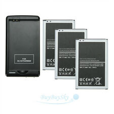 3X3200mAh rechargeable Battery+USB Charger for Samsung Galaxy Note 3 III N9000