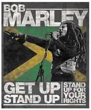 Bob Marley # 12 - 8 x 10 Tee Shirt Iron On Transfer Get Up, Stand Up