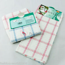Cotton Wood Fiber Kitches Tea Towel Dish Cloth Cleaning HG-CLN-A02