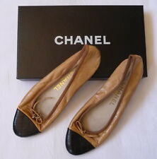 CHANEL Brown Ladies Slippers - Size 36 1/2 - in CHANEL Bag
