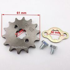 428 14 Tooth 17mm Front Gear Engine Sprocket For 50cc 110cc Sunl Kazuma ATV Quad