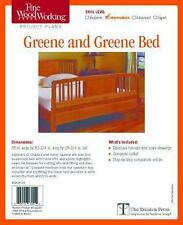 Fine Woodworking's Greene and Greene Bed Plan by Martin McClendon (2013,...