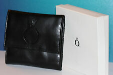 AUTH PANDORA GWP BLACK TRAVEL LEATHER JEWELRY CASE HOLDS BRACELETS/CHARMS & MORE