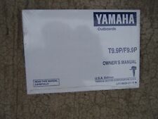1990 Yamaha Outboard Motor T9.9P F9.9P Owner Manual MORE IN OUR STORE  S