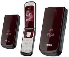 Brand New Nokia 2720 Red Flip Big Button Unlocked Mobile Phone 1 Year Warranty