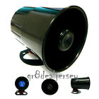 New 6 Tone 12V Loud Car Van Truck Security Alarm Siren