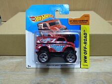Hot Wheels 2014 Monster Dairy Delivery  HW Off-Road #122/250  Rot