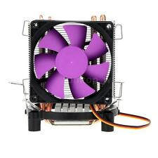 New PC CPU Cooling Fan Cooler Heatsink 2 Heat Pipe Fr Intel LGA 775 AMD AM2 B2LU
