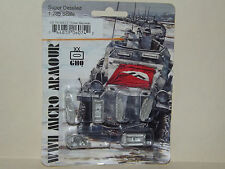 WWII Micro Armour GHQ War Games 1/285 Scale US-74 M4A3 75mm Sherman
