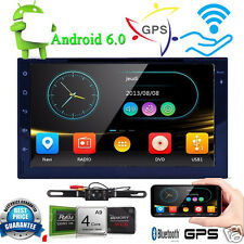 """2Din 7"""" Android6.0 Quad-Core Car Radio Stereo No DVD WiFi-3G Tablet GPS Navi+Cam"""
