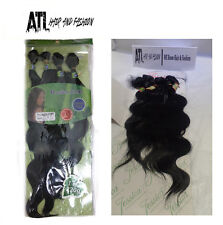 Synthetic Hair Weave Extensions Body Wave 14 16 18 20 + Closure