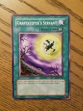Gravekeeper's Servant - DB1-EN017 or MRL-031 - Common NM  Yugioh