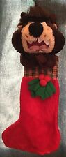 Looney Tunes Taz / Tazmanian Devil Plush Christmas Stocking By Play By Play