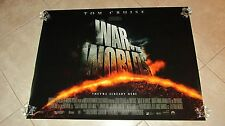 THE WAR OF THE WORLDS movie poster (UK Quad)  - TOM CRUISE