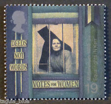 Suffragette behind prison bars illustrated on 1999 Stamp - Unmounted mint
