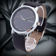 Elegant Black Casual Dress Men Quartz Wrist Watch Bracelet Vintage Relojes Male