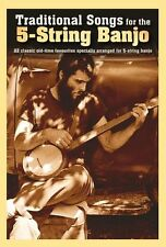 Traditional Songs For 5-String Banjo Play Jazz Folk Country Tunes Music Book