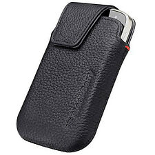 NEW Genuine Blackberry BOLD TOUCH 9900 9930 Leather Holster Pouch w Clip