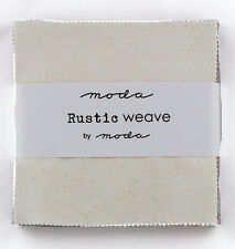 "Moda Charm Pack - Rustic Weave - 42 x 5"" squares"