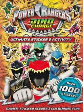 Saban's Power Rangers Dino Charge Ultimate Sticker & Activity (P/B 2016)