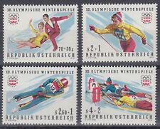 Österreich Austria 1975 ** Mi.1499/02 Olympische Spiele Winter Olympic Games