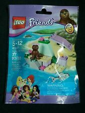 NEW Sealed LEGO FRIENDS PETS 41047 Seal's Little Rock 37 Pcs Series 6 Poly Bag