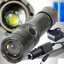 Practical 3500LM CREE XM-L T6 LED Rechargeable Flashlight Torch 18650 2Charger