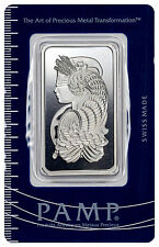 PAMP Suisse 1 Oz .999 Fine Silver Bar - Fortuna w/ Assay Certificate SKU27827