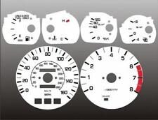 1986-1992 Toyota Supra TURBO 160 mph Dash Cluster White Face Gauges MKIII