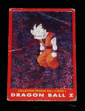 DRAGON BALL Z GT DBZ COLLECTION SERIE 4 CARDDASS CARD PRISM CARTE N° 75 ** 1989