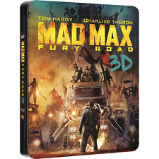 Mad Max (METAL PAK)(STEELBOOK)(Blu-ray 3D + Blu-ray)(3D+2D)(2 DISC)(ALL)(NEW)