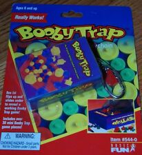 Hasbro Booby Trap Miniature Game Keychain Basic Fun Retired Rare New Barbie Size